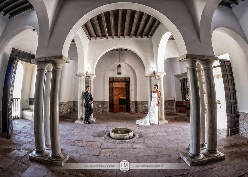 Fotógrafos Jódar fotos de boda en la alcazaba de almería