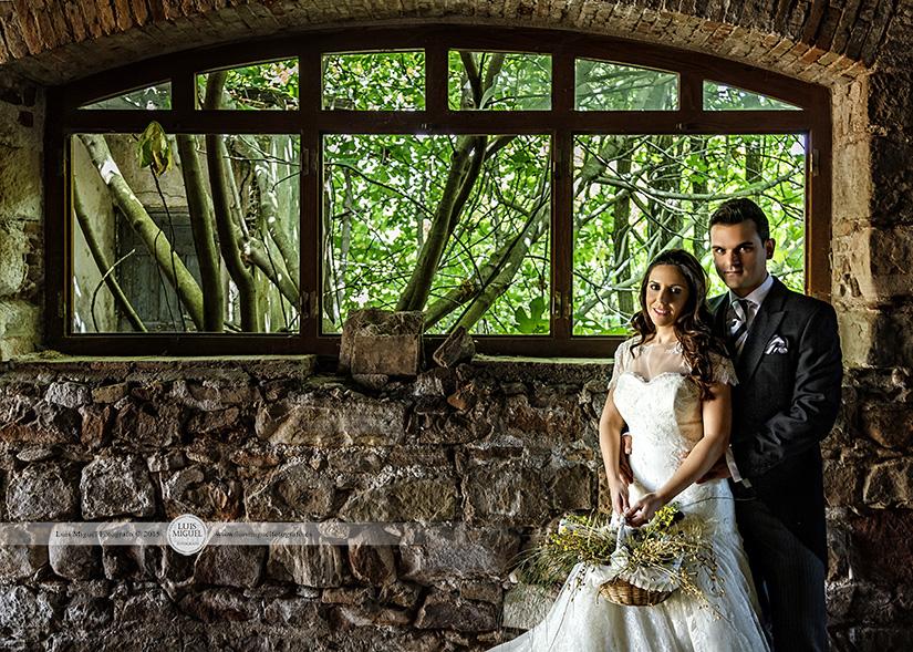 Fotografías de boda bellas y elegantes en Linares