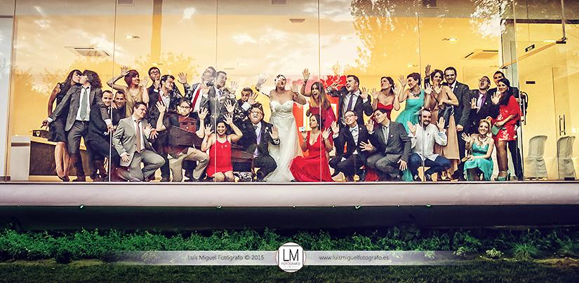 Fotógrafo de bodas Linares en boda en la finca la Huerta de Mari Salud