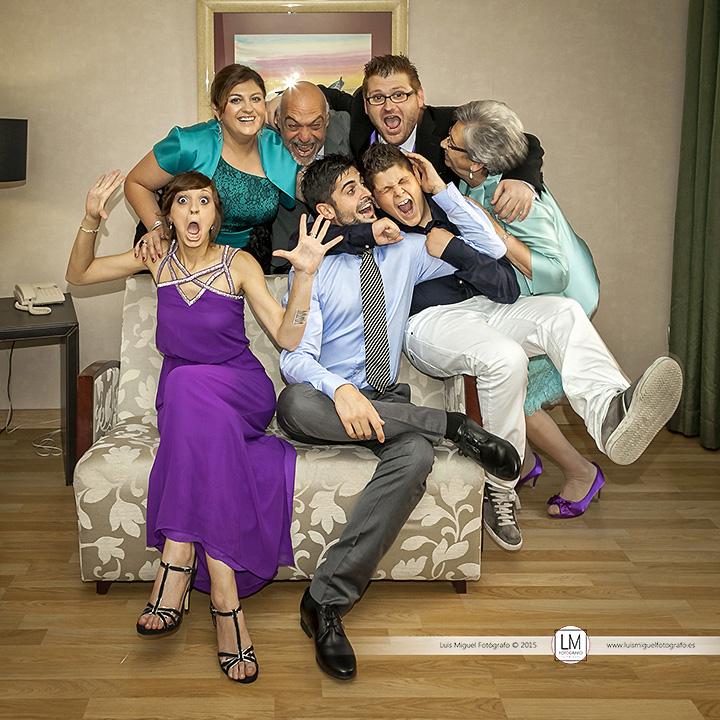 Fotógrafo de bodas Linares con fotos de boda diferentes y divertidas