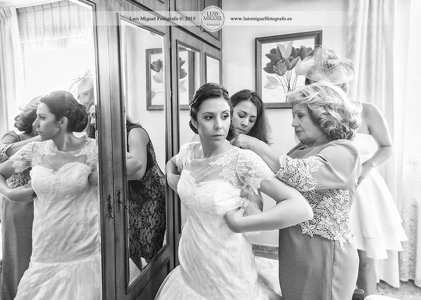 Fotoperiodismo de boda en linares
