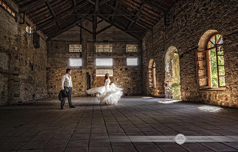 Fotos de boda elegantes de Fotógrafo en Linares