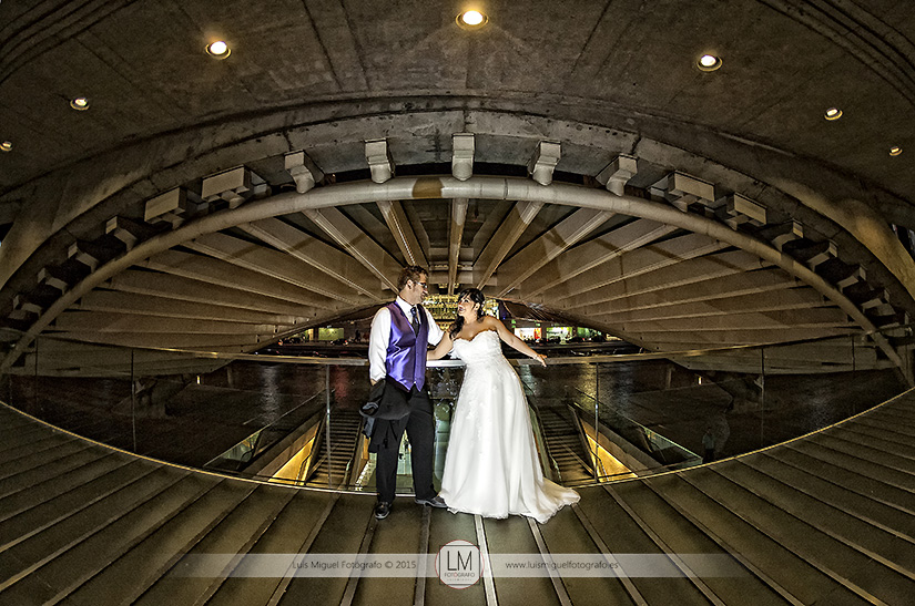 Fotógrafo de bodas Linares realiza fotos de boda espectaculares en Lisboa