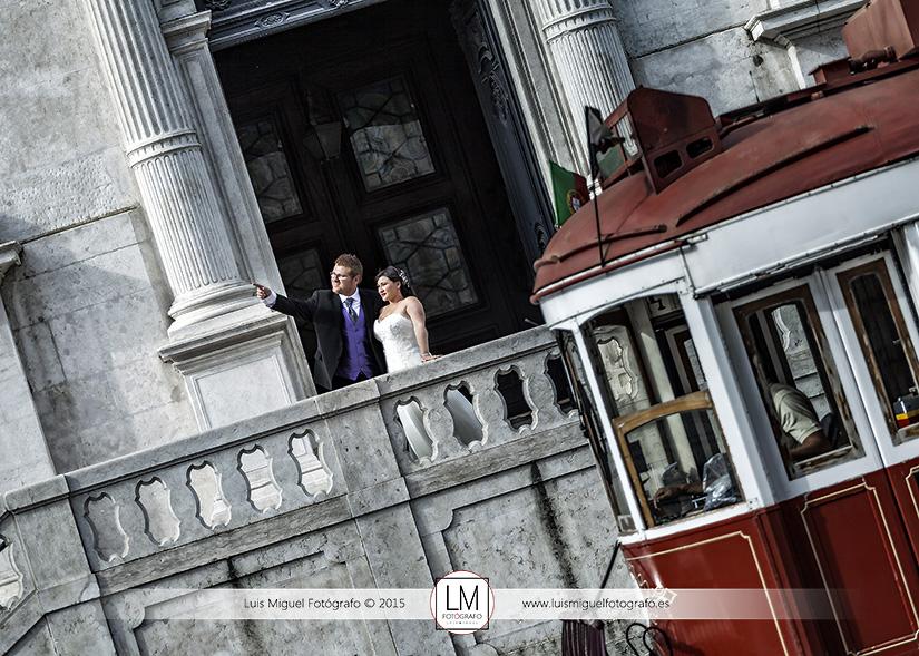 Fotógrafo de bodas en Lisboa con boda de Linares