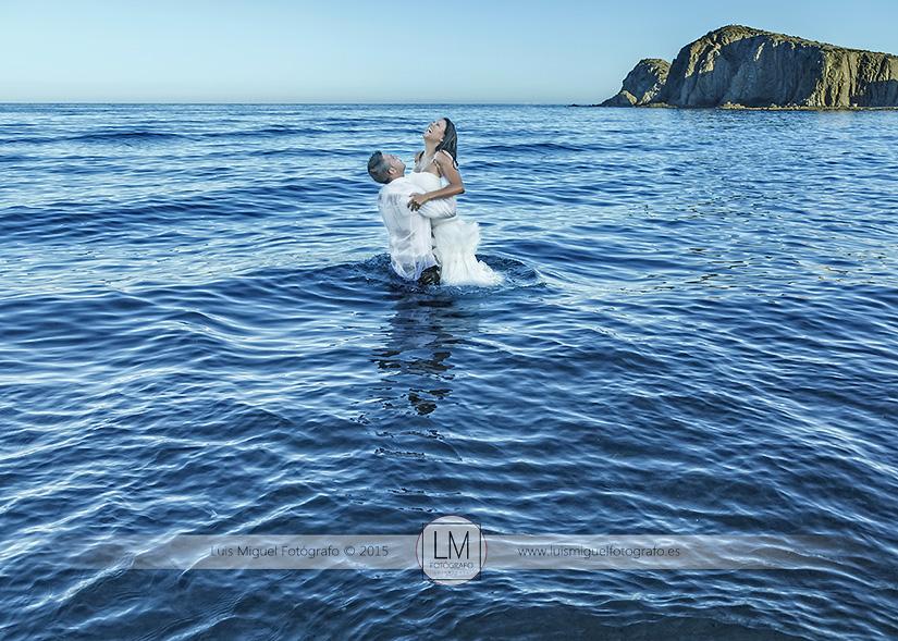Fotos de boda en Almería de novios de Úbeda