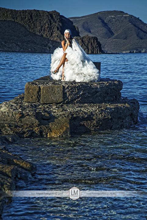 Fotos de boda en Cabo de Gata