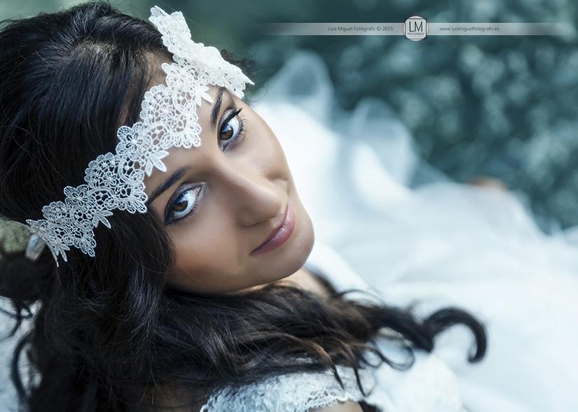 Fotógrafos Úbeda Fotos de novias elegantes