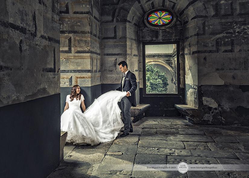 Fotografías de boda elegantes en Úbeda
