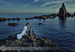 Mamen y Seba [] Los sueños se cumplieron en su reportaje de boda.