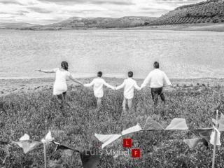 Fotografías de Comunión con familia en Linares