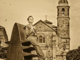 Fotos de Comunión elegantes de fotógrafos de Úbeda