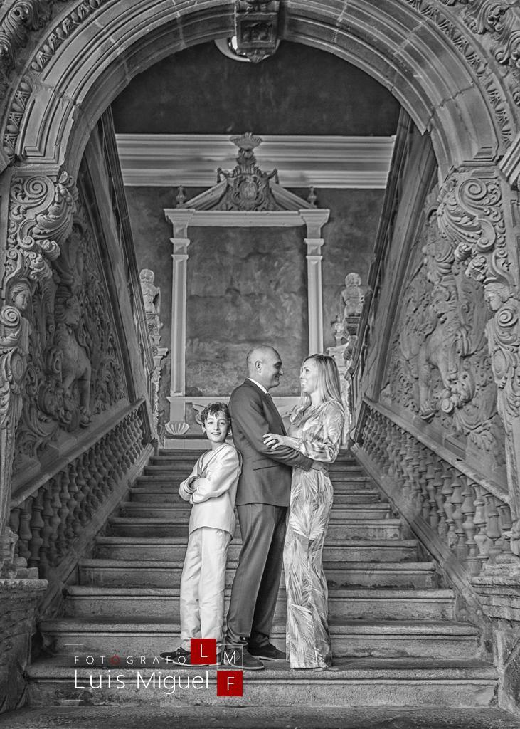 Fotografía de Comunión con familia en Baeza (Jaén)