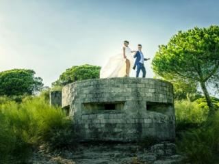 Post-boda elegante en Cádiz