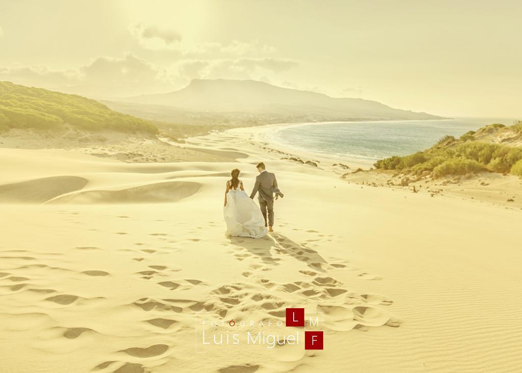 Post-boda original en Cádiz