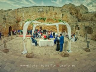 Boda en el Castillo de Sabiote