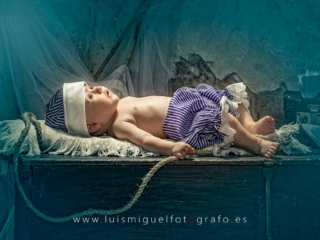 Foto de bebe marinero