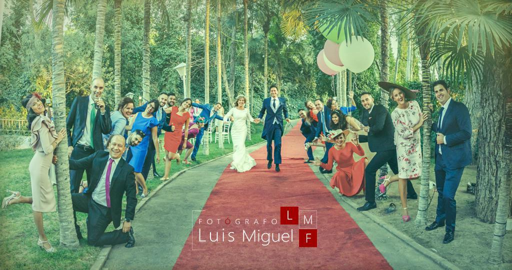 Fotos de boda originales en finca La Huerta de Linares