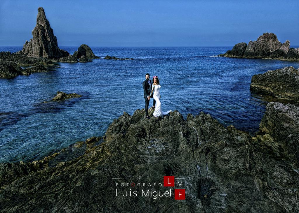 Uno de los mejores lugares de Almería para realizar las fotos de post boda